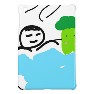Cute Broccoli in Hot Springs iPad Mini Case