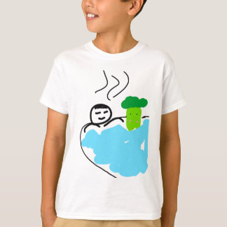 Cute Broccoli in Hot Springs T-Shirt