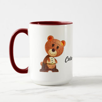 Cute Brown Bear  Mug