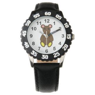 Cute Brown Bear Watch