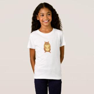 Cute Brown Hamster Kid's T-shirt