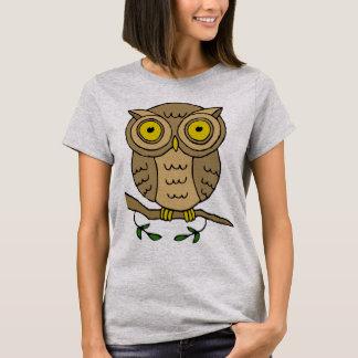 Cute Brown Owl T-Shirt