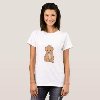 Cute brown puppy T-shirt