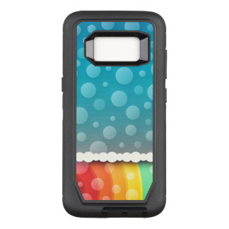 Cute Bubbling Pattern OtterBox Defender Samsung Galaxy S8 Case