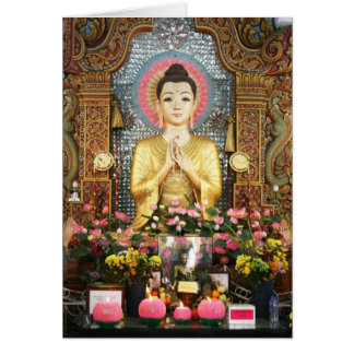 Cute Buddha Card