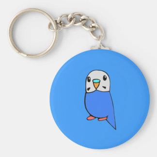 Cute Budgie Keychain