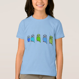 Cute Budgies T-Shirts