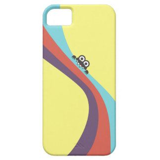 Cute Bug Bites Candy Colorful Stripes iPhone 5 Case