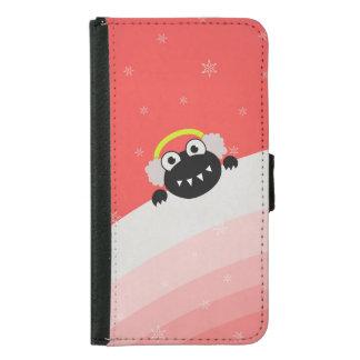 Cute Bug Earmuffs Winter Galaxy S5 Wallet Case
