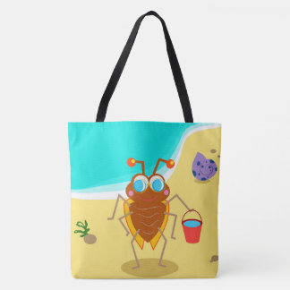 Cute Bug Tote Bag