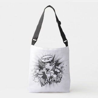 "Cute Bull Terrier bag ""Awesome"""