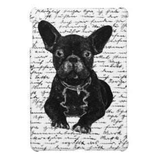 Cute bulldog iPad mini covers