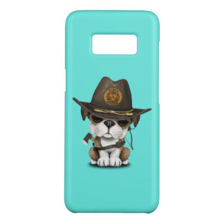 Cute Bulldog Puppy Zombie Hunter Case-Mate Samsung Galaxy S8 Case
