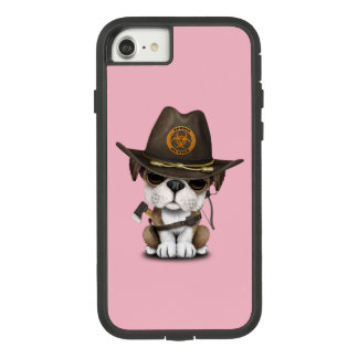 Cute Bulldog Puppy Zombie Hunter Case-Mate Tough Extreme iPhone 8/7 Case