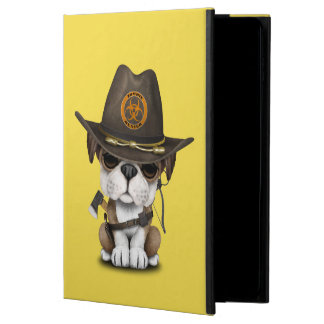 Cute Bulldog Puppy Zombie Hunter Powis iPad Air 2 Case