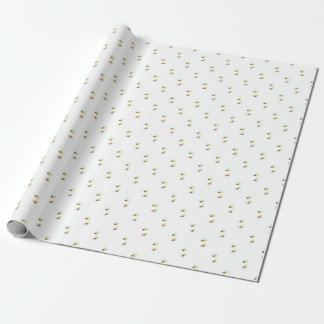 Cute Bumble Bee Baby Shower Wrapping Paper