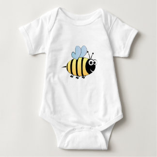 Cute bumble bee cartoon baby shirt