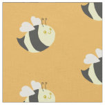 Cute Bumble Bee Fabric