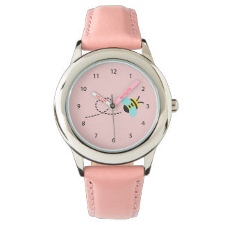 Cute Bumble Bee, For Girls Watch