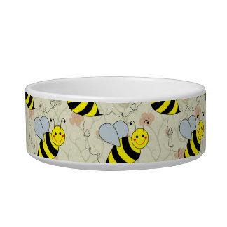 Cute Bumble Bee Pet Food Bowls