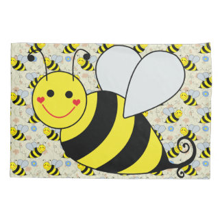 Cute Bumble Bee Pillowcase