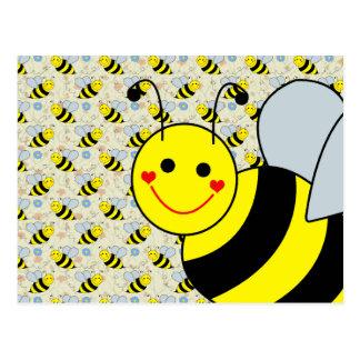 Cute Bumble Bee Postcard