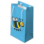 cute bumble bee small gift bag