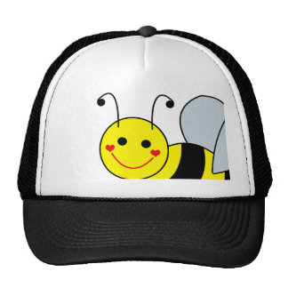 Cute Bumble Bee Smile Trucker Hat