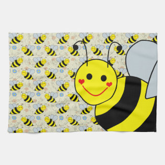 Cute Bumble Bee Towels