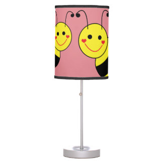 Cute Bumble Bees Table Lamp