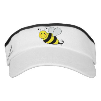 Cute Bumble Bees Visor