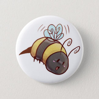 Cute Bumblebee 2 Inch Round Button