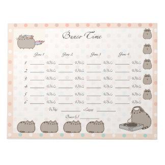 Cute Bunco sheet Notepads
