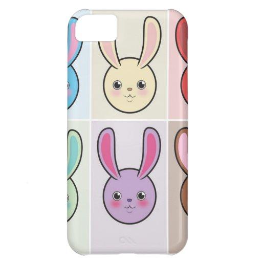 Cute Bunnies iPhone 5C Cover