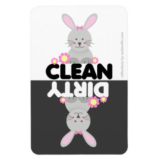 Cute Bunny Dishwasher Magnet