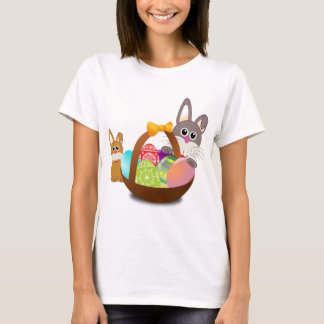 Cute bunny for happy easter day T-Shirt