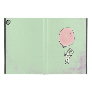 "Cute Bunny Holding a Balloon iPad Pro 9.7"" Case"