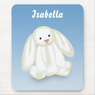 "Cute Bunny ""Name This!"" - Mousepad"