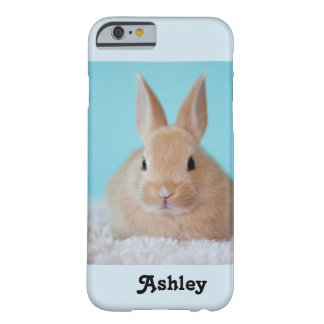 Cute bunny personalized IPhone6 cell phone case