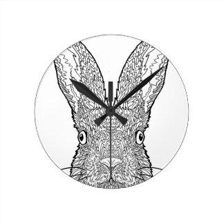 Cute Bunny Rabbit Design Clocks