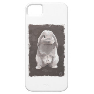 Cute Bunny Sitting Up iPhone 5 Cases