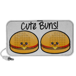 Cute Buns Portable Speakers