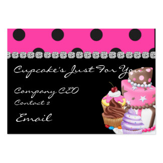 CUTE Business Cards CUPCAKES