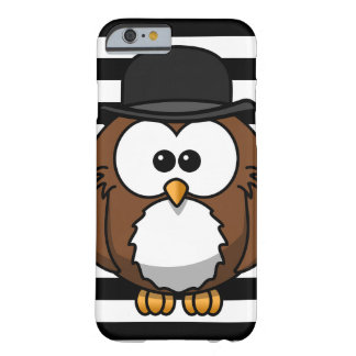 Cute Bussiness Owl iPhone Case