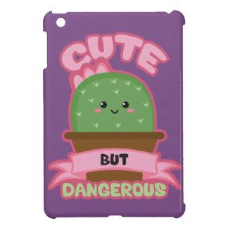 Cute But Dangerous - Kawaii Cactus - Funny iPad Mini Case