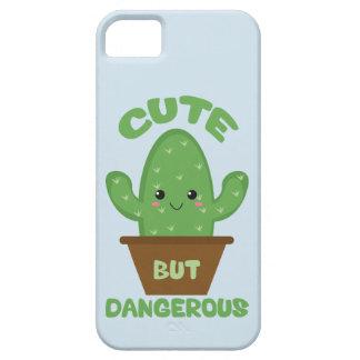 Cute But Dangerous - Kawaii Cactus - Funny iPhone 5 Cover