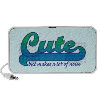 Cute but Noisy Travelling Speaker