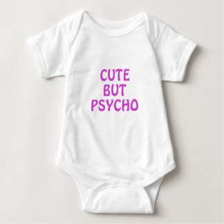 Cute But Psycho Baby Bodysuit