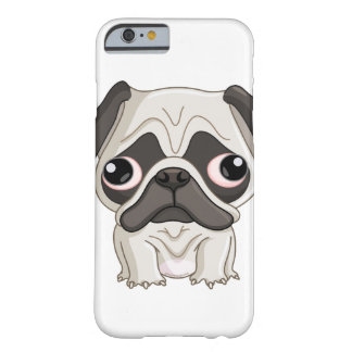 Cute But Sad Pug Puppy Barely There iPhone 6 Case