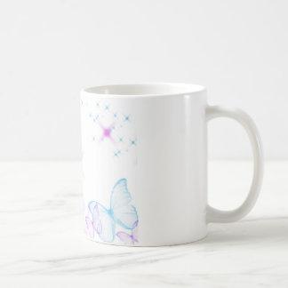 Cute Butterfly Basic White Mug